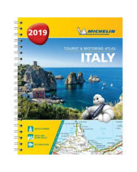 Olaszország Turista- és Autós Atlasz (Michelin)