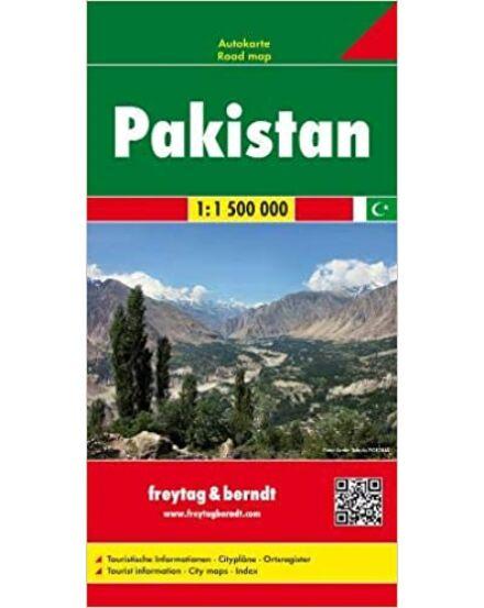 Pakisztán autóstérkép (Freytag)