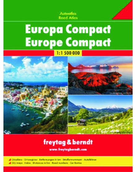 Európa útvonaltervező atlasz_Cartographia