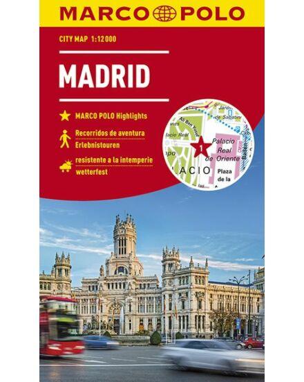 Cartographia  - Madrid várostérkép (Marco Polo)