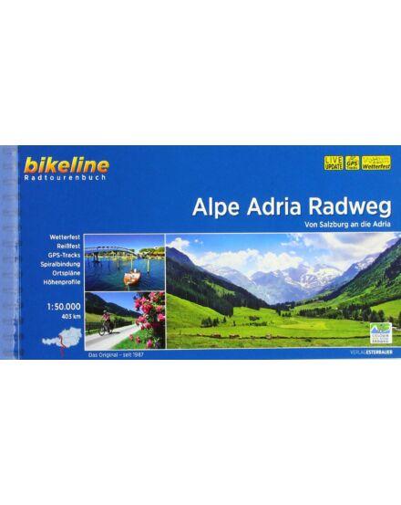 Alpok-Adria kerékpáros kalauz_Cartographia