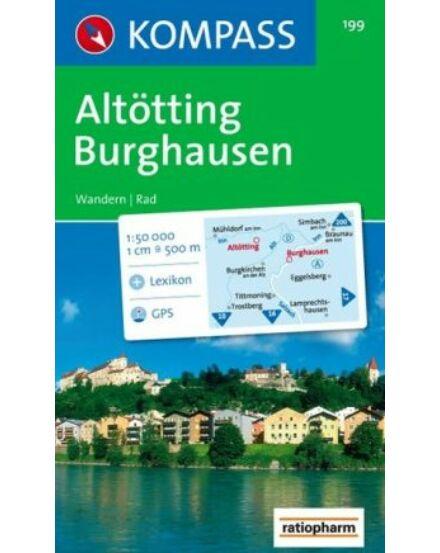 Altötting, Burghausen turistatérkép