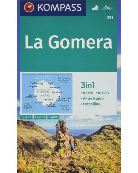 La Gomera turistatérkép