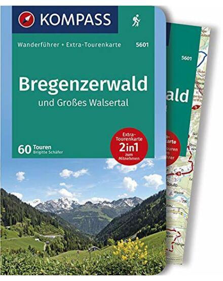 Bregenzerwald, Grosses Walserta turistatérkép + guide