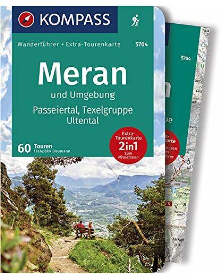 Merano és környéke /Passeiertal/Texelgruppe/Ult térkép+guide