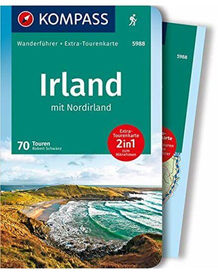 Írország és Észak-Írország térkép+kalauz