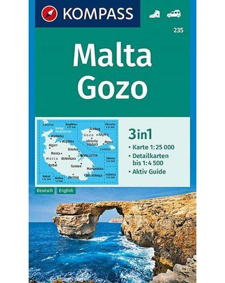 Cartographia  - K 235 Málta és Gozo turistatérkép