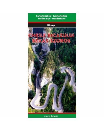 Gyilkos-tó és Békás-szoros turistatérkép (Dimap)