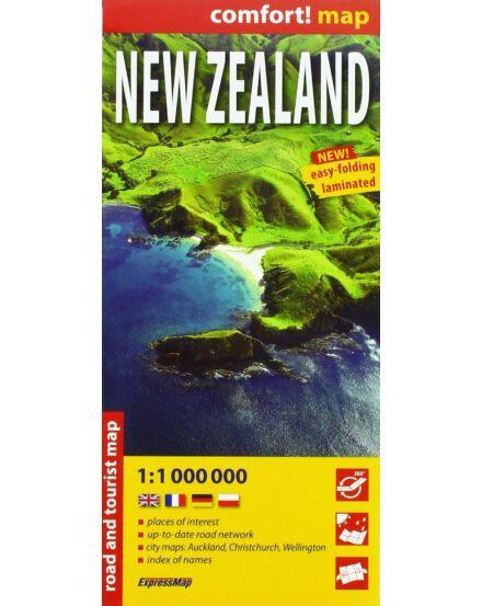 Új-Zéland comfort_Cartographia