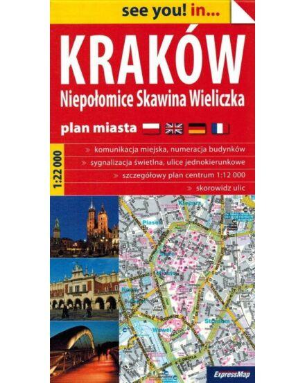 Krakkó várostérkép (Expressmap)