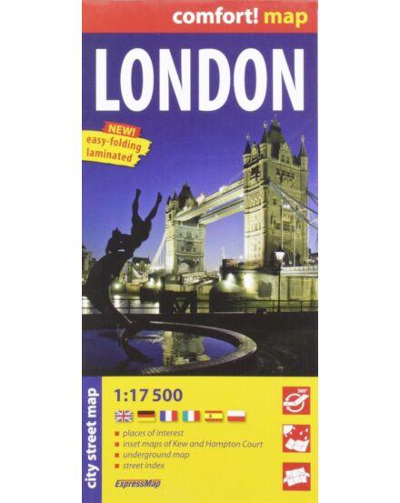 London Comfort térkép (Expressmap)