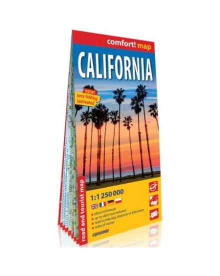 Cartographia  - Kalifornia Comfort térkép