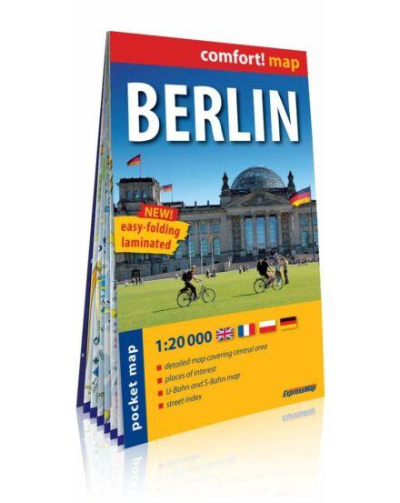 Cartographia  - Berlin Comfort zsebtérkép