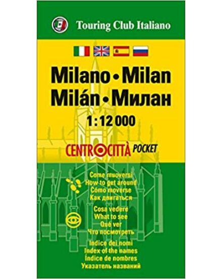 Milánó várostérkép (TCI) mini