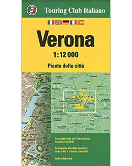 Verona várostérkép (TCI)