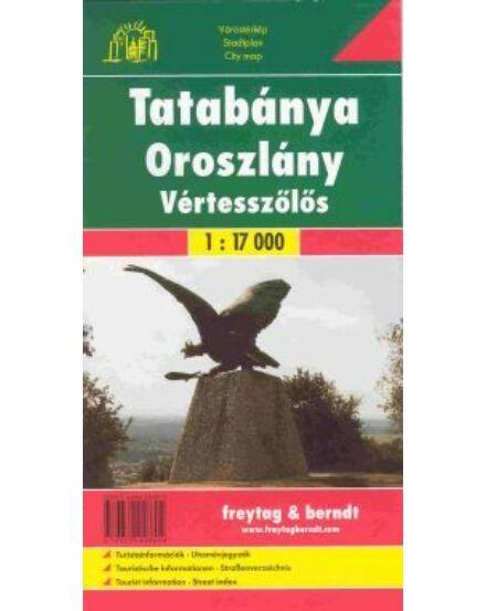Tatabánya / Oroszlány / Vértesszőlős várostérkép (Freytag)