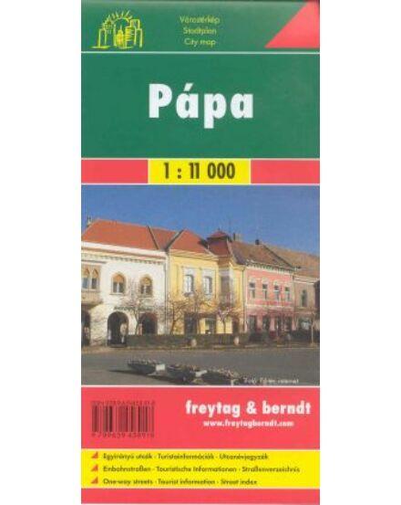 Pápa várostérkép (Freytag)