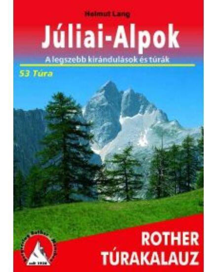 Júliai-Alpok túrakalauz (Freitag)