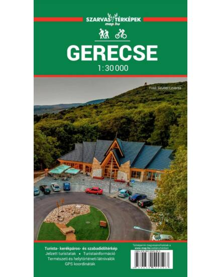 Cartographia  - Gerecse turistatérkép