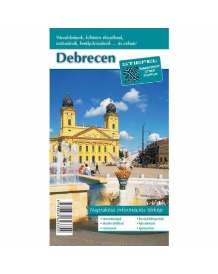 Debrecen várostérkép (Stiefel)