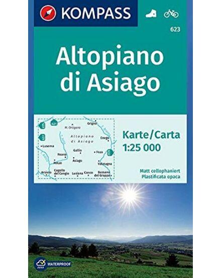 K 623 Altopiano di Asiago, 1:25 000 turistatkp.