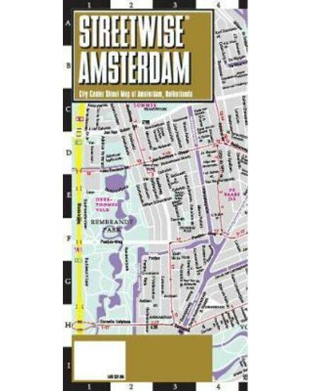 Amszterdam streetwise térkép