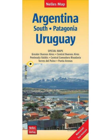 Argentína-dél_Patogónia_Uruguay