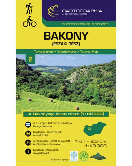 Cartographia  - Bakony (északi rész) turistatérkép [2]