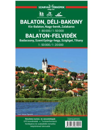 Cartographia  - Balaton és Balaton-felvidék turistatérkép