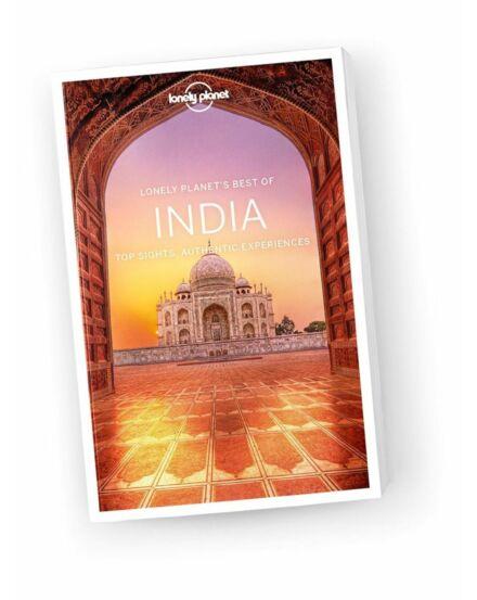 Cartographia  - India Best of útikönyv Lonely Planet