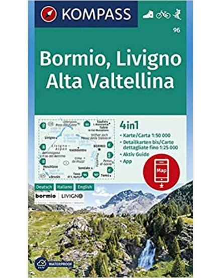Cartographia  - Bormio - Livigno - Alta Valtellina turistatérkép