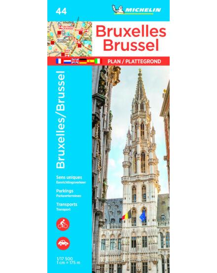 Cartographia  - Brüsszel várostérkép - 0044 Michelin