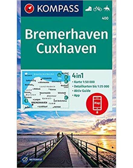 K 400 Bremerhaven, Cuxhaven turistatkp. 1:50 000/1:25 000