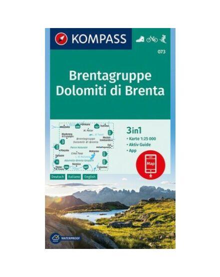 Cartographia  - K 073 Brenta-Dolomitok turistatérkép
