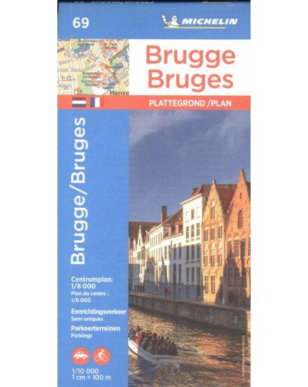 Brugge várostérkép