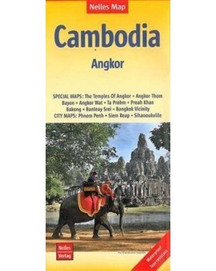 Cartographia  - Kambodzsa - Angkor térkép