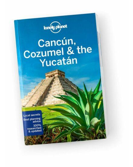 Cancún_Cozumel_Yucatán_angol_útikönyv_Lonely