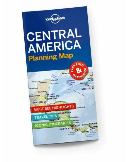9781788685924 Közép-Amerika Közép útvonaltervező térkép Lonely
