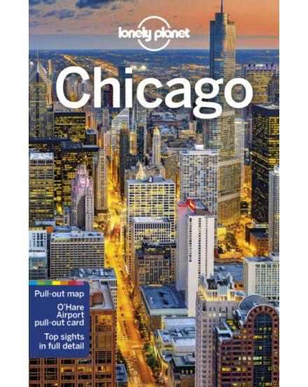 Chicago útikönyv (angol) Lonely Planet