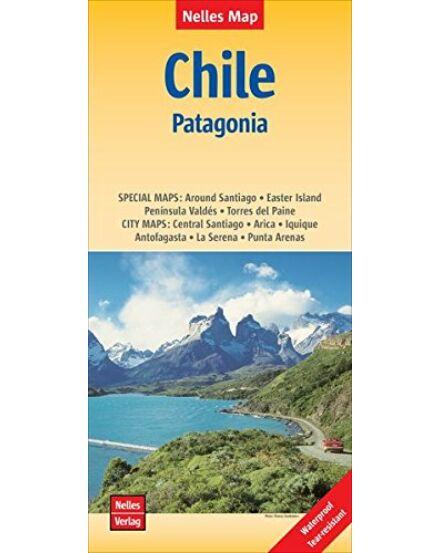 Chile, Patagónia térkép