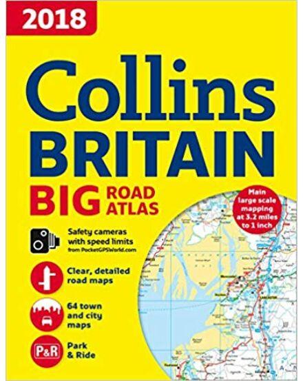 Cartographia  - Nagy-Britannia nagyatlasz