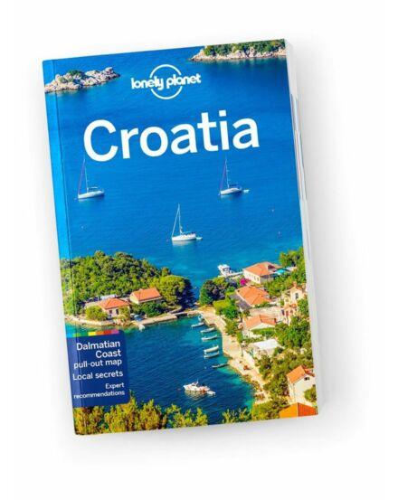 Cartographia  - Horvátország útikönyv (angol) Lonely Planet