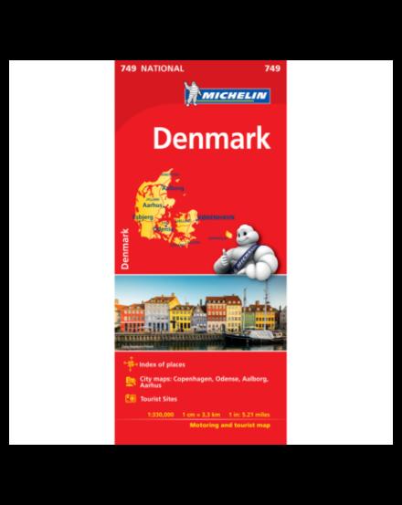 Cartographia  - Dánia térkép - 0749 Michelin