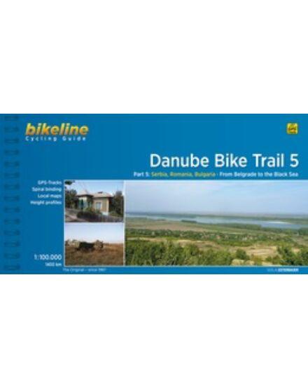 Cartographia  - Duna kerékpáros kalauz 5. (angol)