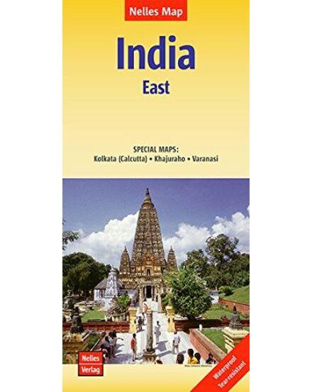 Kelet - India térkép