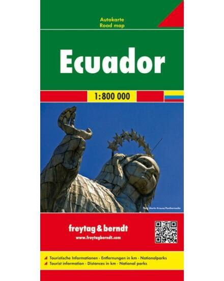 Ecuador,Gálapagos térkép.1:800 000(Freytag)
