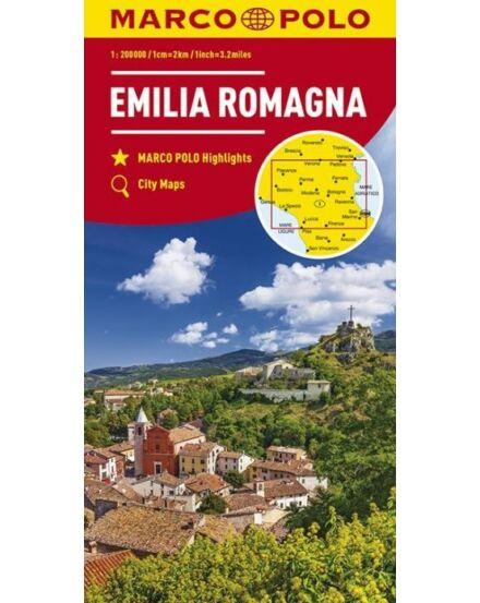 Olaszország résztérkép 1:200 000- Emilia Romagna