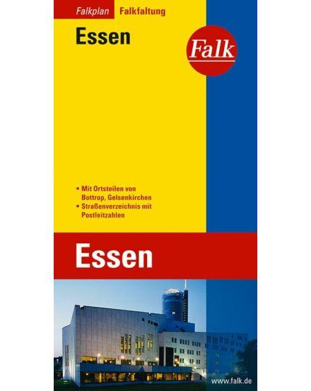 Cartographia  - Essen várostérkép (Falkfaltung) Falk