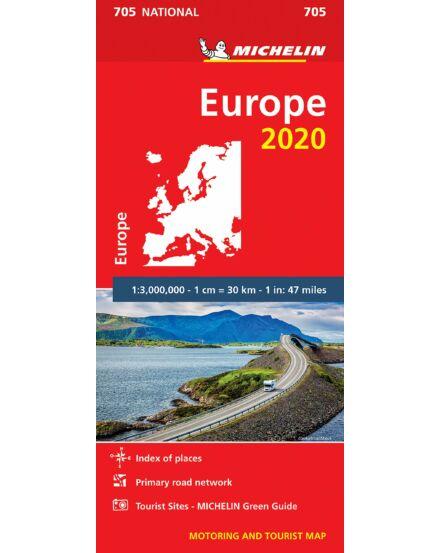 Európa térkép (705)