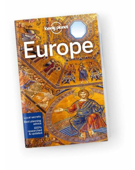 Cartographia  - Europe travel guide Europa utikonyv Lonely Planet